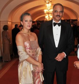 Eric Holder Wife Sharon Malone, Family