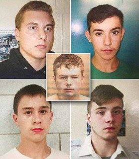 Teens Charged With Throwing Rocks, Kenneth White