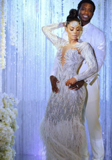 Keyshia KaOir Wedding Dress The Mane Event