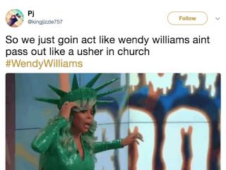 Wendy Williams Faint Memes